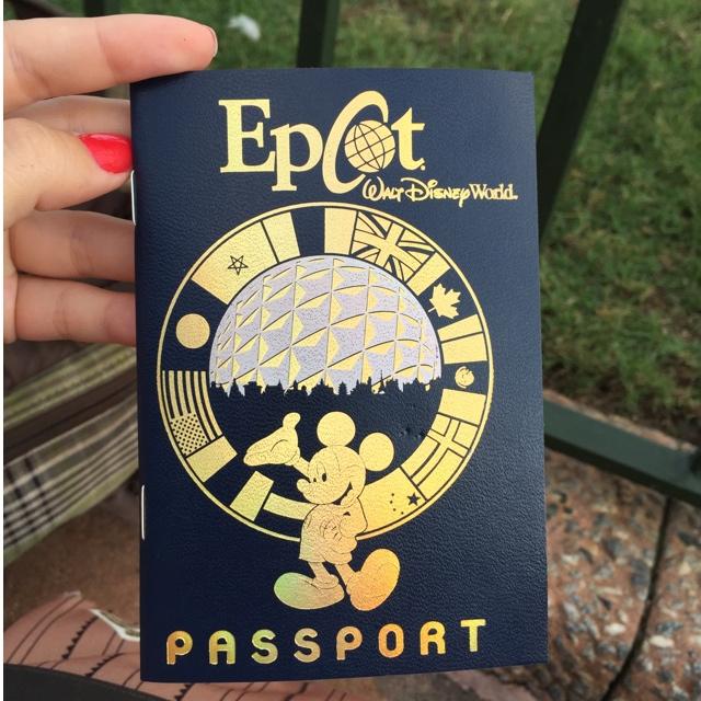 Passaporte para você comprar em qualquer loja dos países do Epcot