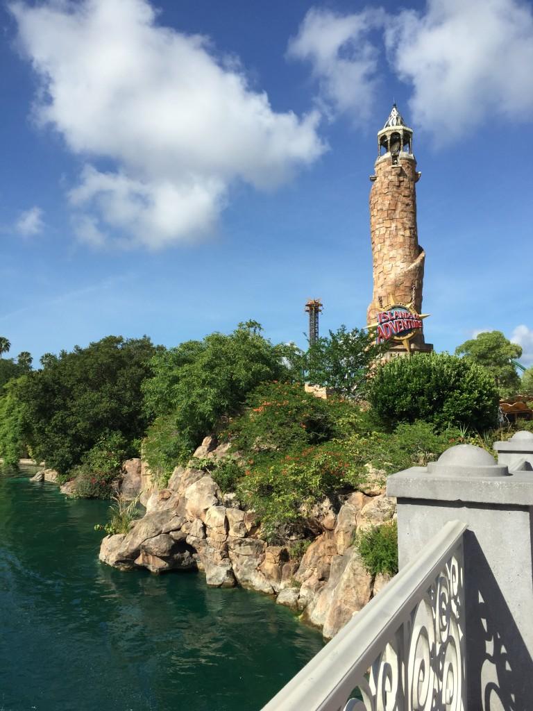 Entrada do parque Islands of Adventure