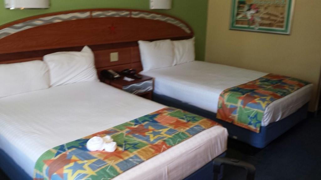 Quarto padrão dos hotéis All Star