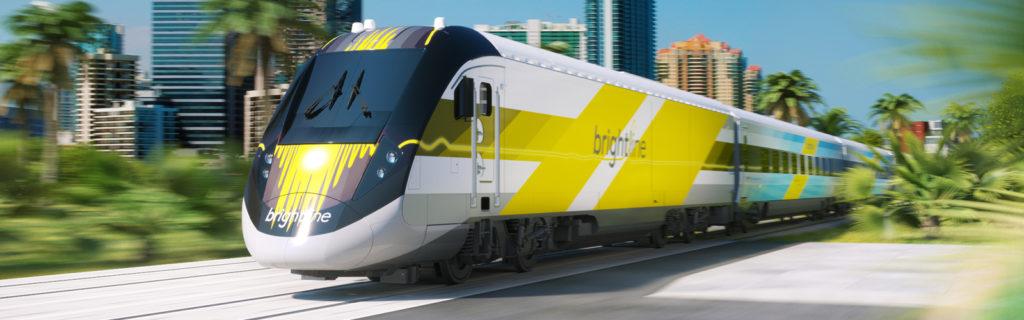 Trem entre Miami e Orlando
