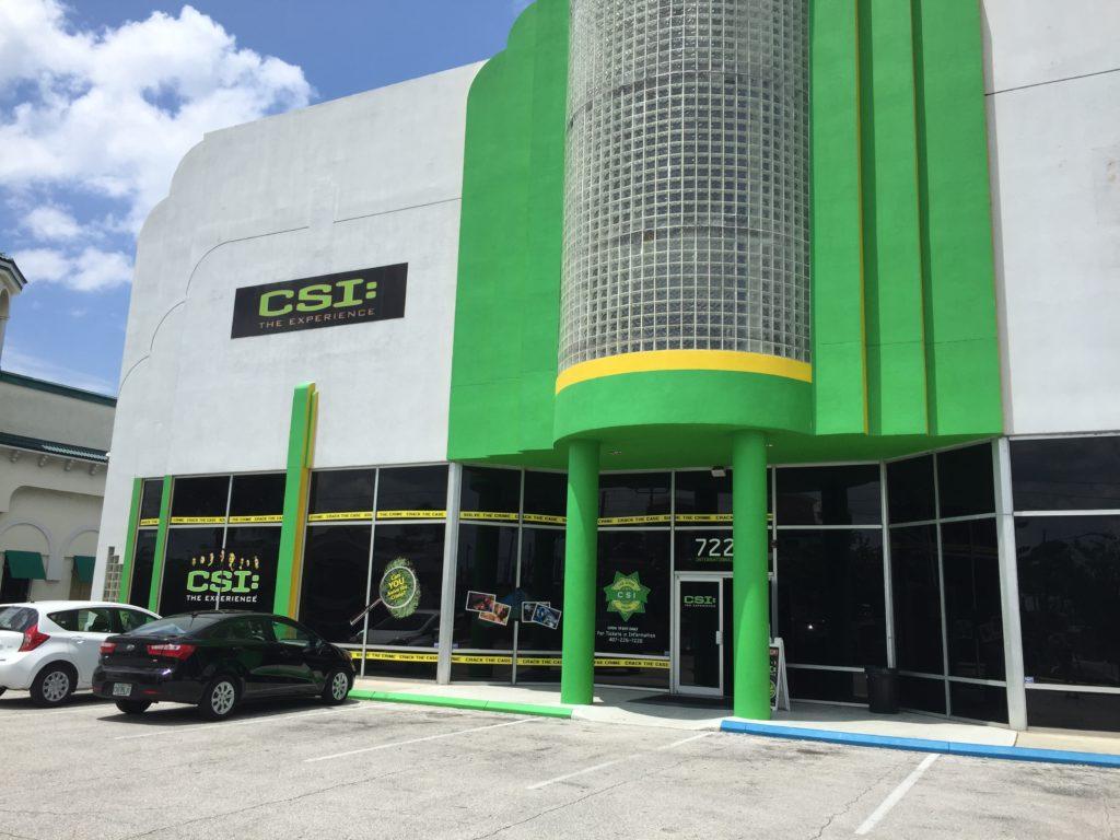 CSI The Experience em Orlando 2