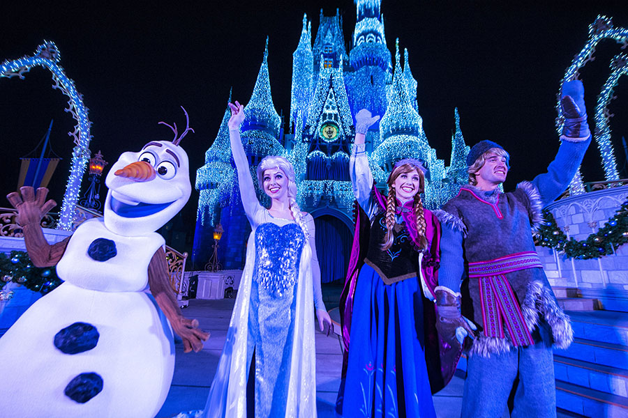 A Frozen Holiday Wish. Fonte: Disney Parks