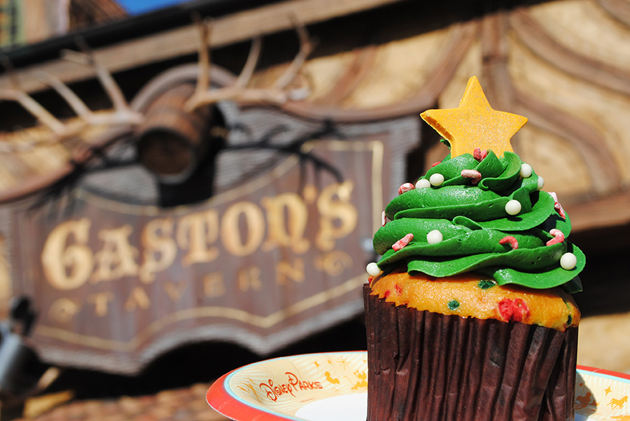 Holiday Tree Cupcake. Fonte: Disney Parks